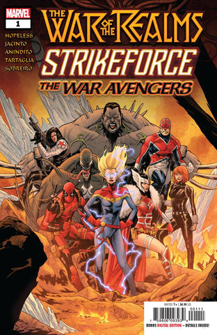 WAR OF REALMS STRIKEFORCE WAR AVENGERS #1 #1 - Packrat Comics