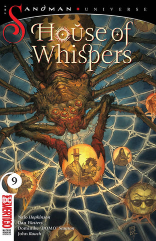 HOUSE OF WHISPERS #9 (MR) - Packrat Comics