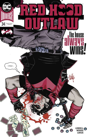RED HOOD OUTLAW #34 - Packrat Comics