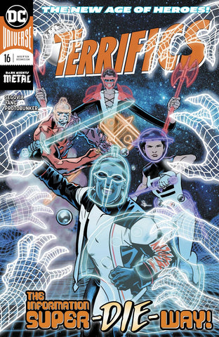 TERRIFICS #16 - Packrat Comics