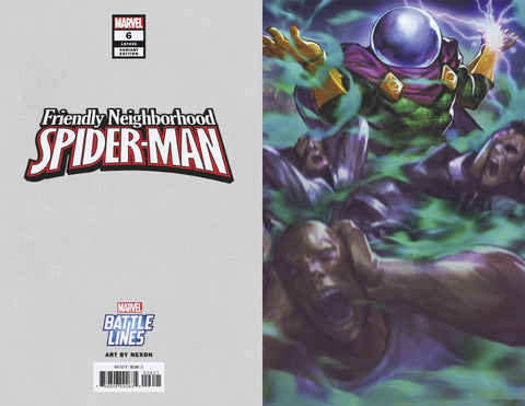 FRIENDLY NEIGHBORHOOD SPIDER-MAN #6 NEXON MARVEL BATTLE LINE - Packrat Comics