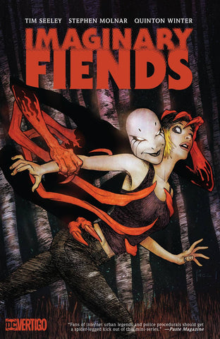 IMAGINARY FIENDS TP (MR) - Packrat Comics