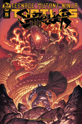 TMNT SHREDDER IN HELL #5 CVR A SANTOLOUCO - Packrat Comics