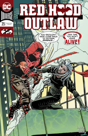 RED HOOD OUTLAW #35 - Packrat Comics