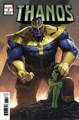 THANOS #3 (OF 6) PYEONG JUN PARK VAR - Packrat Comics