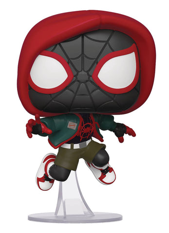 POP MARVEL INTO SPIDERVERSE CASUAL MILES MORALES PX VIN FIG - Packrat Comics