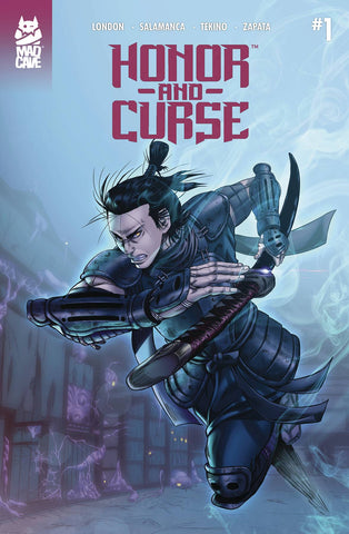 HONOR AND CURSE #1 2ND PTG - Packrat Comics