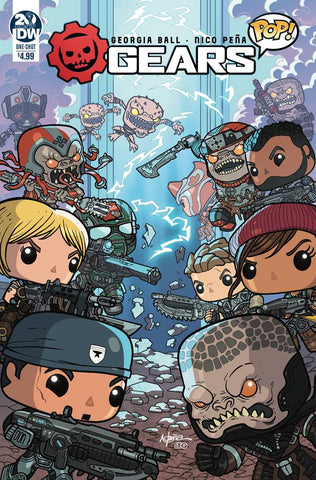 GEARS OF WAR POP ONE-SHOT #1 CVR A PENA