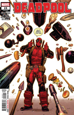 DEADPOOL #15 - Packrat Comics