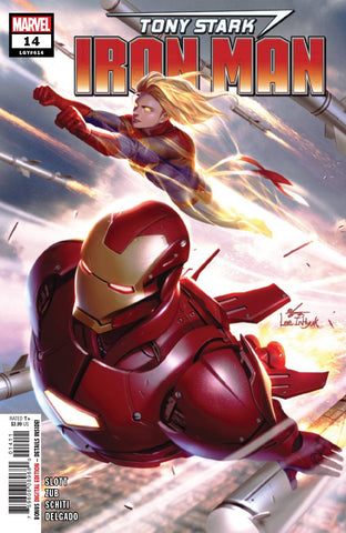 TONY STARK IRON MAN #14 - Packrat Comics