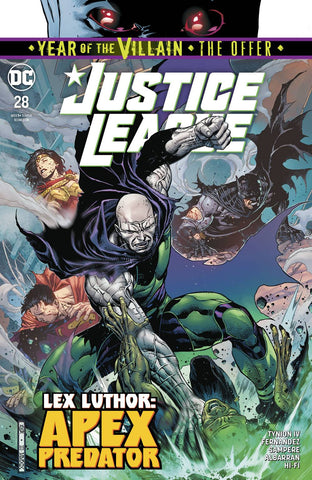 JUSTICE LEAGUE #28 YOTV THE OFFER - Packrat Comics