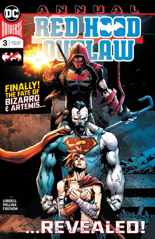 RED HOOD OUTLAW ANNUAL #3 - Packrat Comics