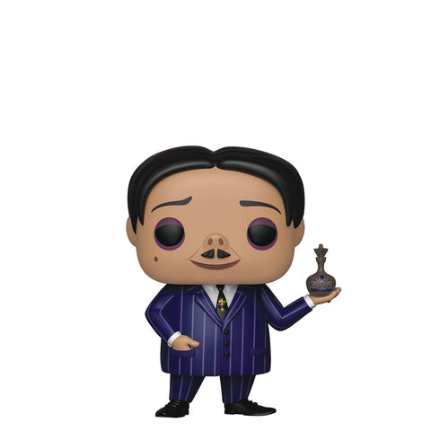 POP MOVIES ADDAMS FAMILY GOMEZ VINYL FIGURE - Packrat Comics
