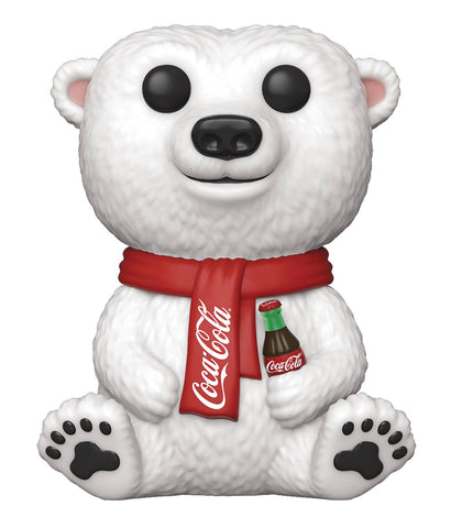 POP AD ICONS COCA-COLA POLAR BEAR VINYL FIGURE