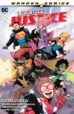 YOUNG JUSTICE HC VOL 01 GEMWORLD - Packrat Comics