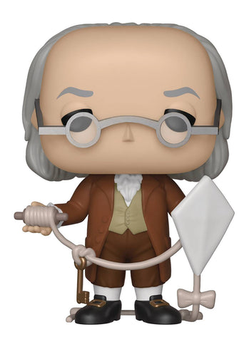 POP AD ICONS BENJAMIN FRANKLIN VIN FIGURE - Packrat Comics