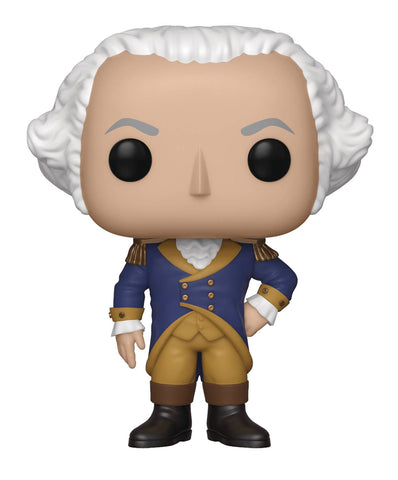 POP AD ICONS GEORGE WASHINGTON VIN FIGURE - Packrat Comics