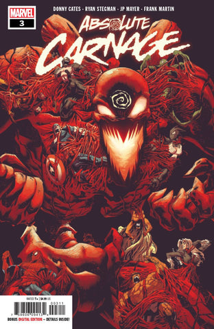 ABSOLUTE CARNAGE #3 (OF 4) AC - Packrat Comics