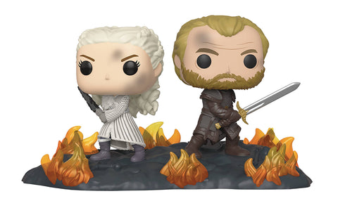 POP MOMENT GAME OF THRONES DAENARYS & JORAH VIN FIG - Packrat Comics