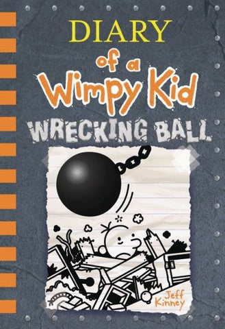 DIARY OF A WIMPY KID HC VOL 14 WRECKING BALL - Packrat Comics