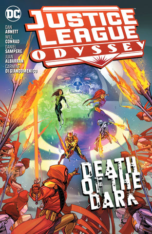 JUSTICE LEAGUE ODYSSEY TP VOL 02 DEATH OF THE DARK - Packrat Comics