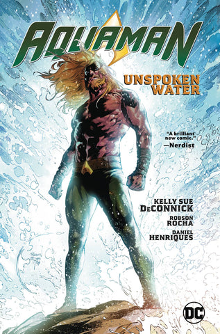 AQUAMAN TP VOL 01 UNSPOKEN WATER - Packrat Comics