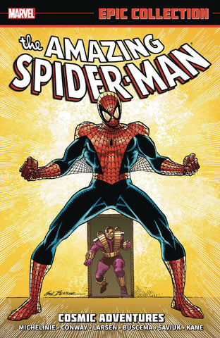 AMAZING SPIDER-MAN EPIC COLLECT TP COSMIC ADVENTURES NEW PTG - Packrat Comics
