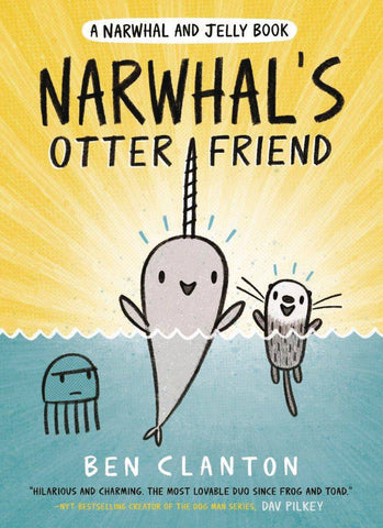 NARWHAL & JELLY GN VOL 04 OTTER FRIEND - Packrat Comics