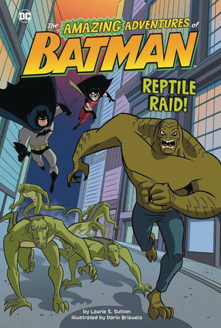 DC AMAZING ADV OF BATMAN YR SC REPTILE RAID