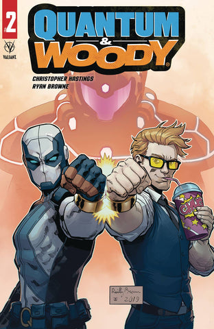QUANTUM & WOODY (2020) #2 (OF 4) CVR C BROWN - Packrat Comics