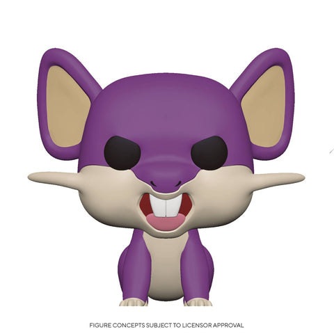 POP GAMES POKEMON S3 RATTATA (C: 1-1-2)