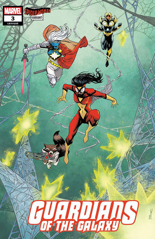 GUARDIANS OF THE GALAXY #3 SHALVEY SPIDER-WOMAN VAR - Packrat Comics