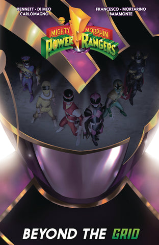 MIGHTY MORPHIN POWER RANGERS BEYOND GRID TP - Packrat Comics