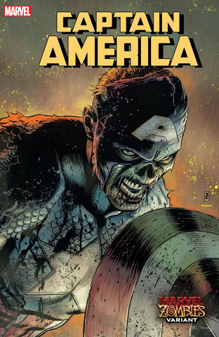 CAPTAIN AMERICA #21 ZIRCHER MARVEL ZOMBIES VAR - Packrat Comics