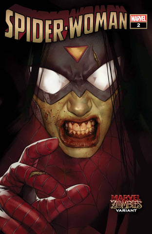 SPIDER-WOMAN #2 OLIVER MARVEL ZOMBIES VAR - Packrat Comics