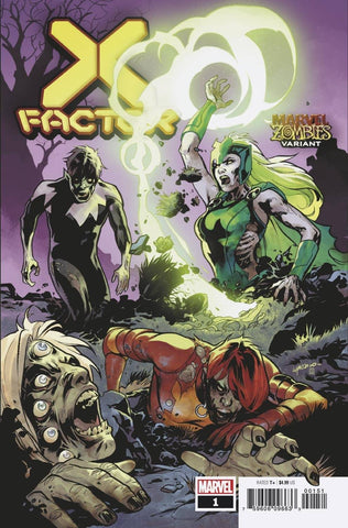 X-FACTOR #1 LUPACCHINO MARVEL ZOMBIES VAR - Packrat Comics