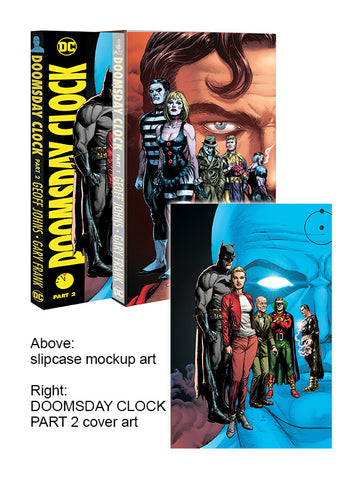 DOOMSDAY CLOCK HC PART 02 WITH SLIPCASE