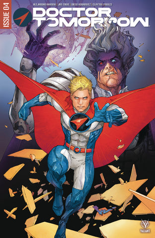 DOCTOR TOMORROW #4 (OF 5) CVR A ROCAFORT