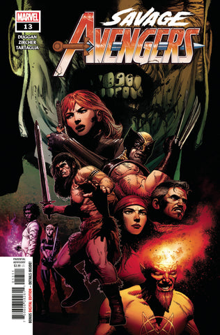 SAVAGE AVENGERS #13 - Packrat Comics