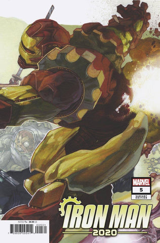 IRON MAN 2020 #5 (OF 6) BIANCHI CONNECTING VAR - Packrat Comics