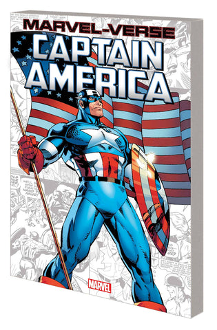 MARVEL-VERSE GN TP CAPTAIN AMERICA - Packrat Comics