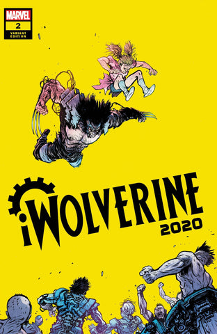 2020 IWOLVERINE #2 (OF 2) JOHNSON VAR - Packrat Comics