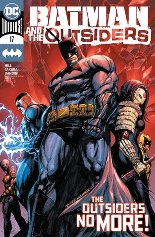 BATMAN AND THE OUTSIDERS #17 - Packrat Comics