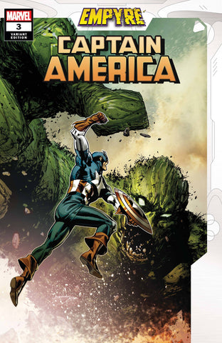 EMPYRE CAPTAIN AMERICA #3 (OF 3) GUICE VAR - Packrat Comics