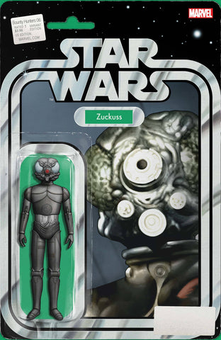 STAR WARS BOUNTY HUNTERS #6 CHRISTOPHER ACTION FIGURE VAR - Packrat Comics
