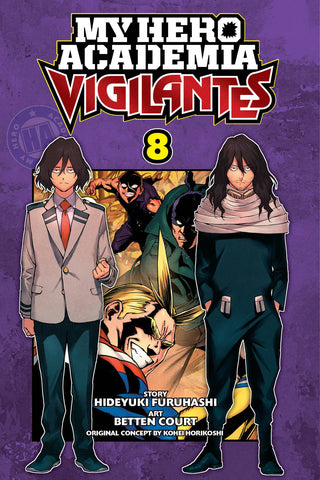 MY HERO ACADEMIA VIGILANTES GN VOL 08 - Packrat Comics