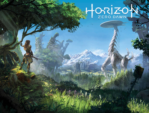 HORIZON ZERO DAWN #3 CVR B  GAME ART WRAPAROUND - Packrat Comics