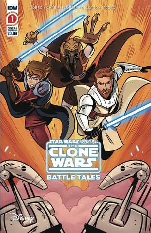 STAR WARS ADVENTURES CLONE WARS #1 (OF 5) 2ND PTG (C: 1-0-0) - Packrat Comics