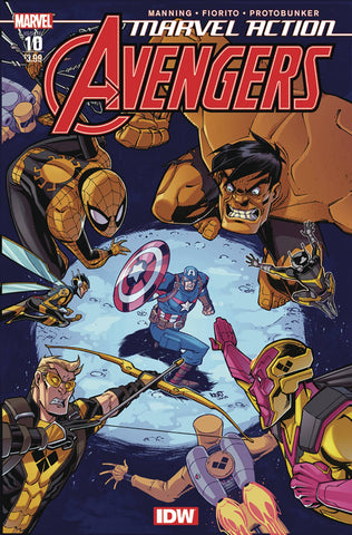 MARVEL ACTION AVENGERS #10 2ND PTG