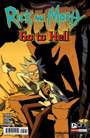 RICK AND MORTY GO TO HELL #5 CVR A - Packrat Comics